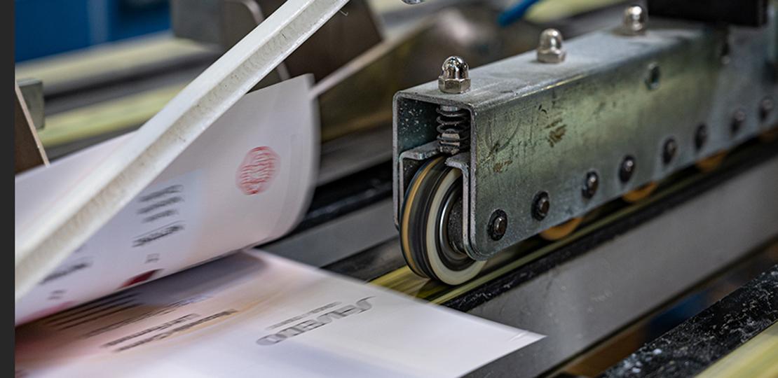 Maschine Druckzentrum